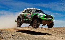 MINI All4 Racing Wins the Dakar Rally 2013