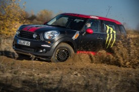 MINI Countryman with Off-Road Design Heading to Dakar Rally