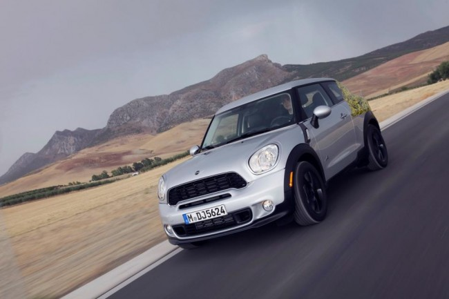 MINI Paceman &#8211; Official &#8216;Spy Shots&#8217;