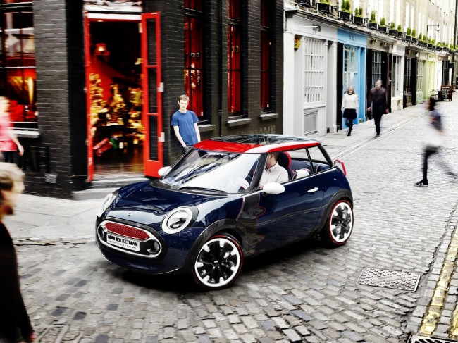 MINI Rocketman Concept Gets A New Look For Olympic Games