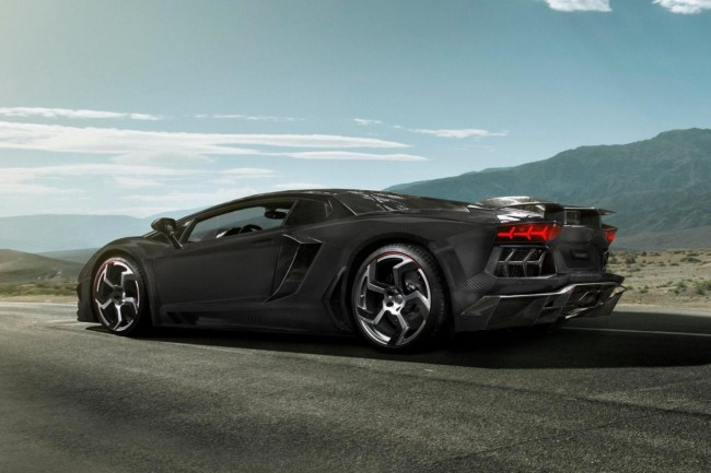 "Mansory Carbonado ""Black Diamond"" Based On Lamborghini Aventador LP700-4"