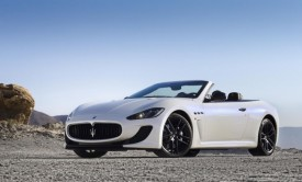 Maserati GranCabrio MC Debuts in Paris [VIDEO]