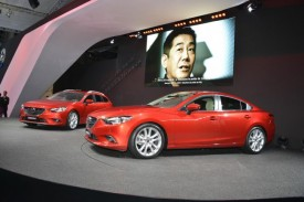 All-new Mazda6 Saloon and Tourer Debut in Paris, Priced From £19,595