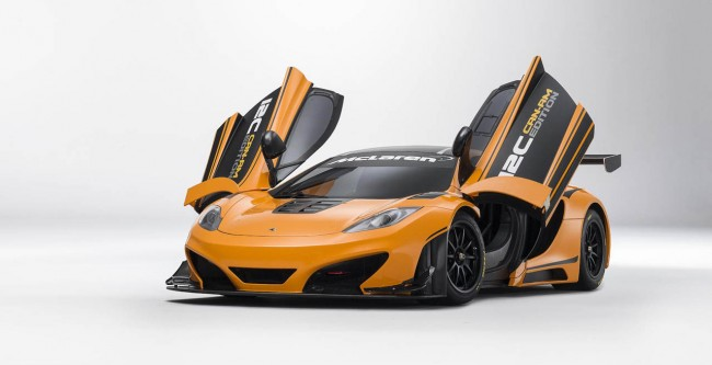 McLaren 12C Can-Am Edition Racing Concept Revealed