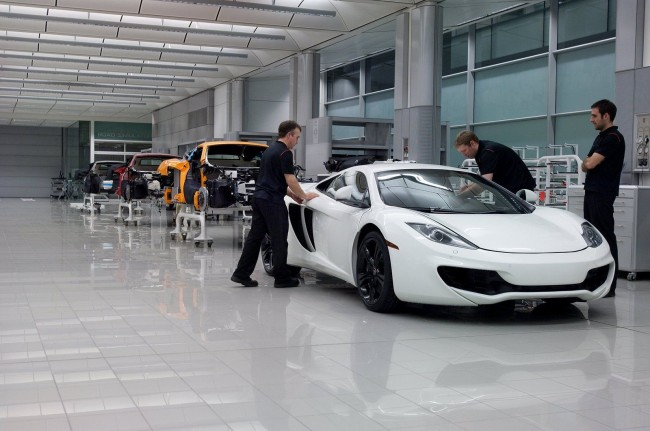 McLaren's Money Progamme: MP4-12C Prices Released