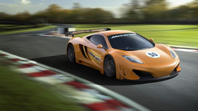 The Track MP4-12C: McLaren Confirms GT3 Car