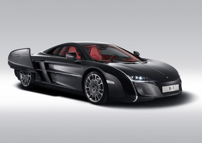 One-off McLaren X-1 Revealed – Created For An Anonymous Car Enthusiast