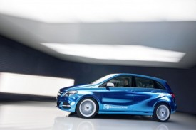 Mercedes Previews B-Class Electric Drive Concept Ahead Of Paris Debut