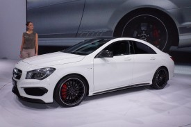 Mercedes-Benz CLA 45 AMG debuts at the New York Auto Show