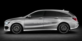 Mercedes-Benz CLA Shooting Brake Rendered