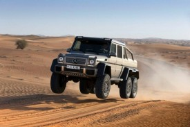 Mercedes-Benz G63 AMG 6×6 Revealed [video]
