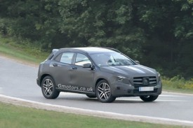 Mercedes-Benz GLA Small SUV Spied