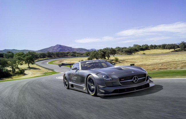 Mercedes-Benz SLS AMG GT3 45th Anniversary Edition