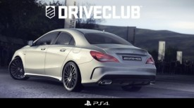 Mercedes CLA 45 AMG Revealed in a New DriveClub Racing Game
