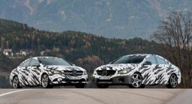 Mercedes CLA & CLA 45 AMG – Official Prototype Pictures & Video