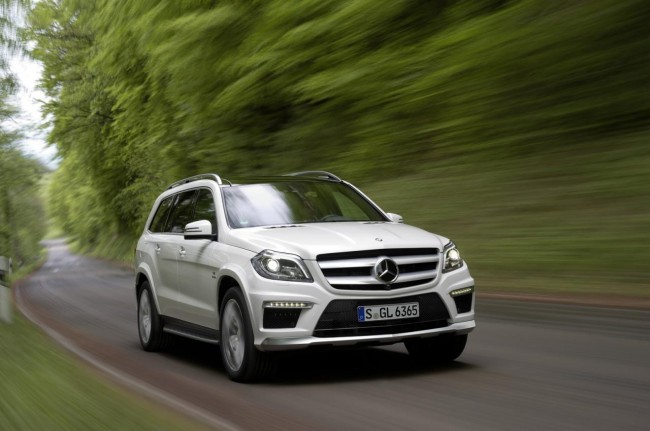 Mercedes GL63 AMG Revealed, Sales Start In Early 2013