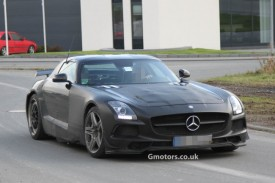Mercedes-Benz SLS AMG Black Series Spied With Less Disguise