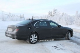 New High Security Armoured Mercedes S-Class Spied For the First Time