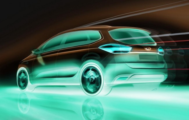 New Kia Carens MPV Teased – Debut At Paris Motor Show