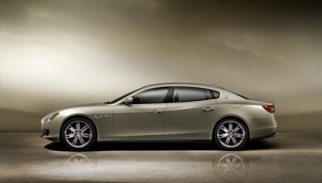 New Maserati Quattroporte side profile