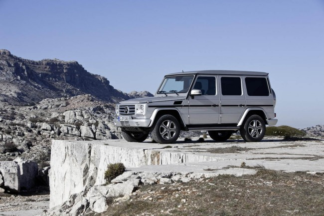 New Mercedes-Benz G-Class Priced From £82,945