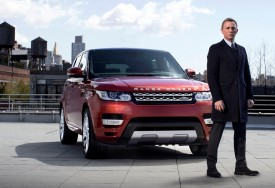 "Daniel Craig reportedly earns $1m for ""007″ minute appearance at Range Rover event"