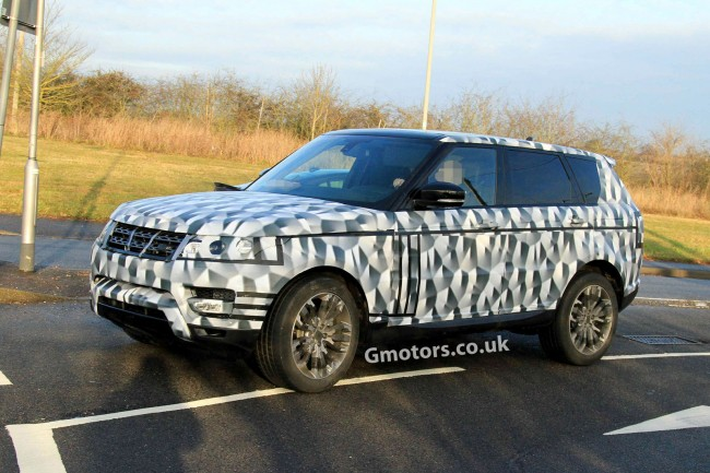 New Range Rover Sport Spied Again &#8211; Most Revealing Pictures So Far
