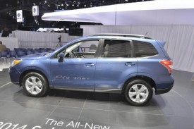 New Subaru Forester Debuts in Los Angeles, UK Launch Next Summer
