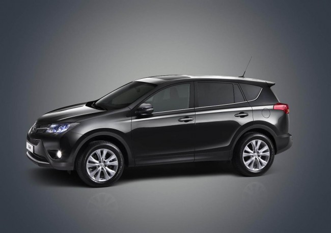 New Toyota RAV4 side