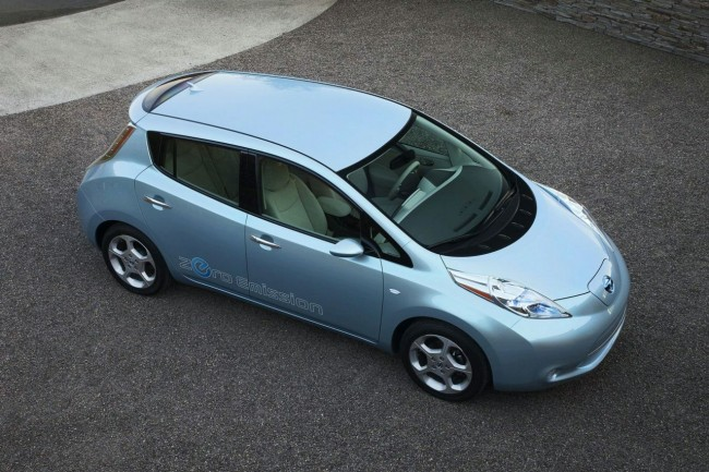 Nissan Leaf Wins 2011 World Car Of The Year Award
