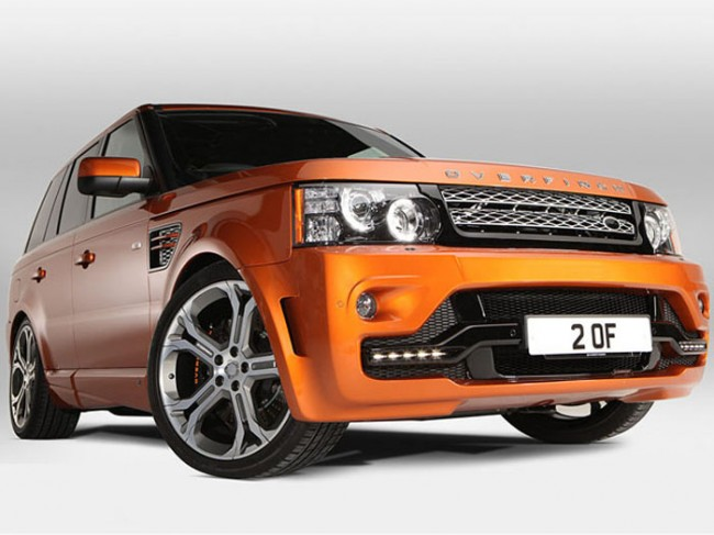 Range Rover Sport GTS-X By Overfinch With 575bhp [VIDEO]