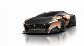 Peugeot Onyx Supercar Concept revealed