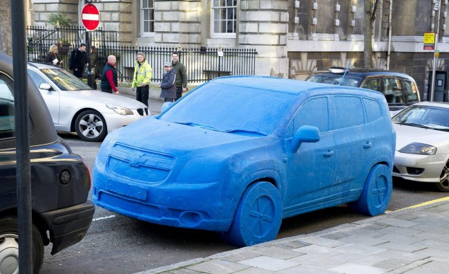 Play-Doh Version Of Chevrolet Orlando In London