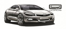 Chinese Qoros Reveals Compact Saloon Design Sketches
