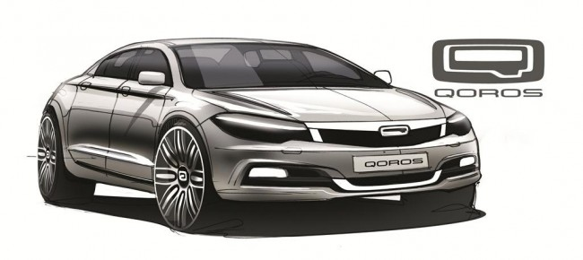 Qoros design sketch