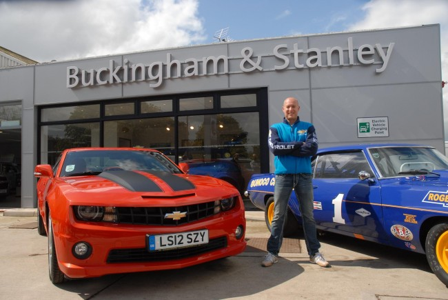 WTCC Driver Rob Huff Is UK's First Camaro Customer