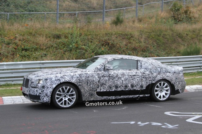 Rolls-Royce Ghost Coupe Caught Testing on the &#8216;Ring