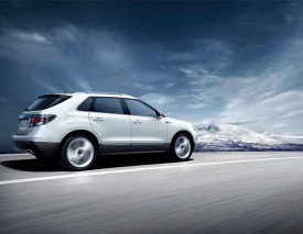 Saab 9-4X debuts at the Los Angeles Auto Show