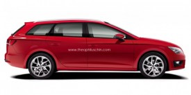 2013 Seat Leon ST Rendered