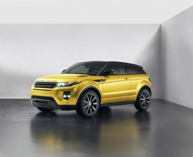 Range Rover Evoque Sicilian Yellow Limited Edition Revealed