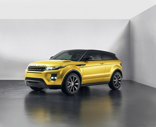 Sicilian Yellow Limited Edition Range Rover Evoque