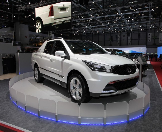 SsangYong SUT 1 Concept Revealed, On Sale In 2012