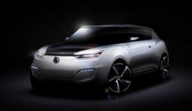 SsangYong e-XIV Electric Car Concept Teased
