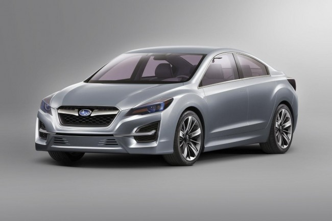 Subaru surprises us with Impreza Design Concept