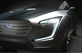 Subaru Teases VIZIV Crossover Concept For Geneva