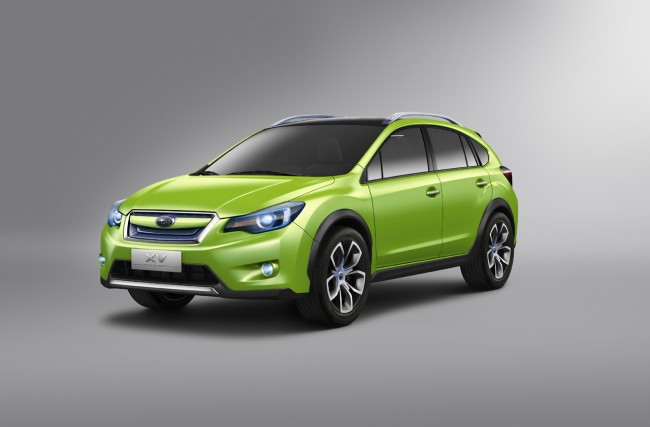 Subaru XV Concept Crossover Debuts In Shanghai