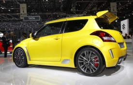 Suzuki Swift S-Concept In Lightning Yellow Debuts In Geneva