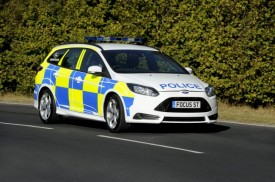 New Ford Focus ST Gets the Full Law Enforcement Livery