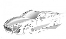 Toyota FT-86 Open Concept to Debut at the Geneva Motor Show