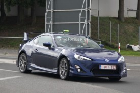 Toyota GT86 With Aero Kit Testing In Europe